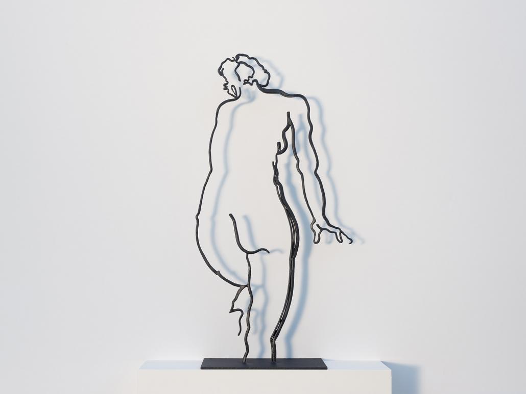 Erwin Kastner Skulptur Stahl Badende