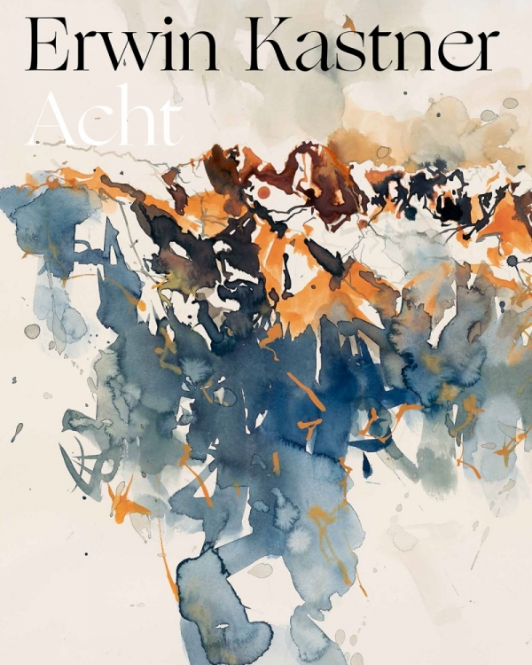 Erwin Kastner Kunstband Acht Cover mit Schirftzug